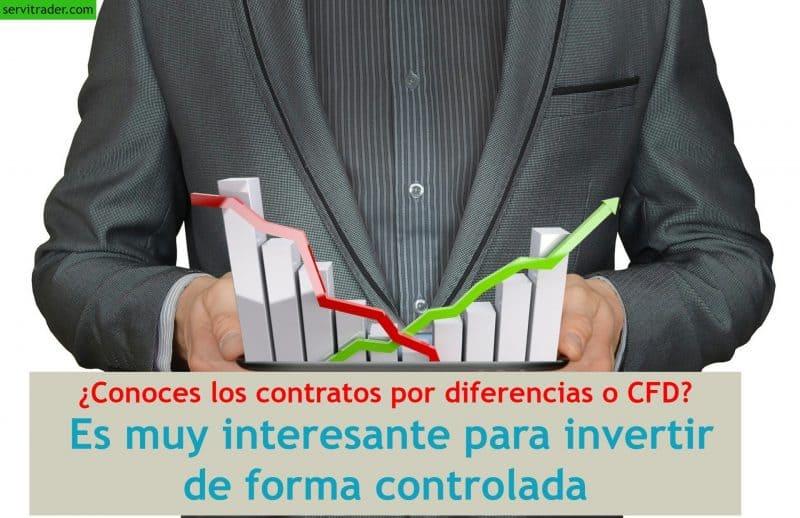 ¿Conoces los contratos por diferencias o CFD? Es muy interesante para invertir de forma controlada